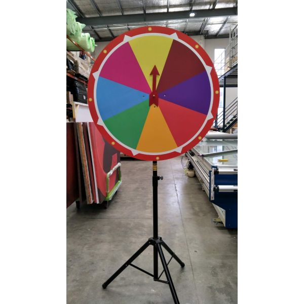 1m diameter Big Prize Wheel, Lucky Spin, Roulette Wheel